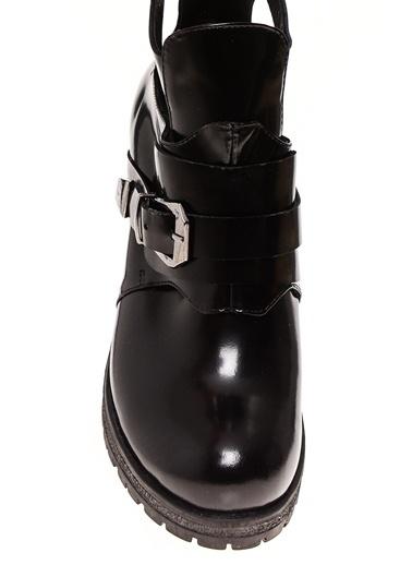 Black Pepper Kalın Topuklu Bot Siyah